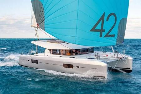 catamaran charter croatia lagoon 42 2019