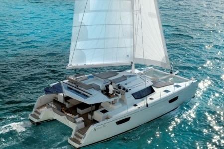 Catamaran Charter Croatia Pajot Saba
