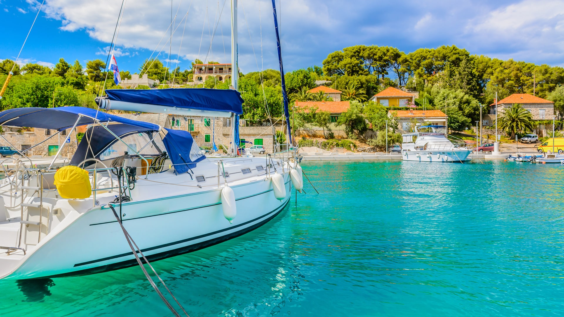 yacht charter management catamaran